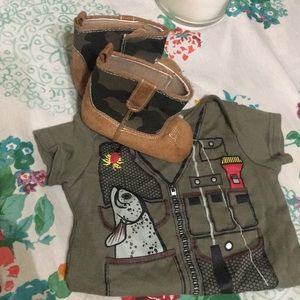 Other - Boys fishing outfit